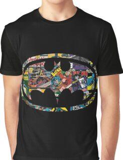 Batman Emblem Comic Graphic T-Shirt
