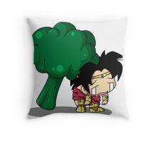 Brolly Broccoli Throw Pillow