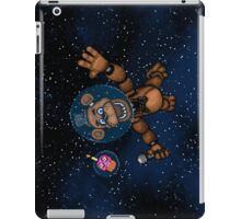 Freddy Fazbear in Space! - FNAF Pixel art iPad Case/Skin