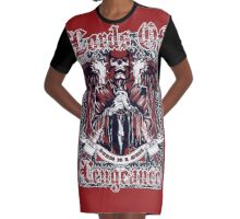 LORDS OF VENGEANCE Graphic T-Shirt Dress
