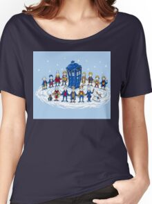 Doctor Who - Doctor Seuss Christmas Women's Relaxed Fit T-Shirt