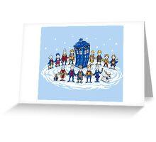 Doctor Who - Doctor Seuss Christmas Greeting Card