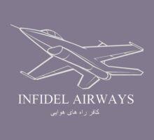 INFIDEL AIRWAYS T-Shirt Kids Clothes
