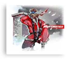 Merry Christmas - Metal Gear Solid Canvas Print