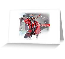 Merry Christmas - Metal Gear Solid Greeting Card