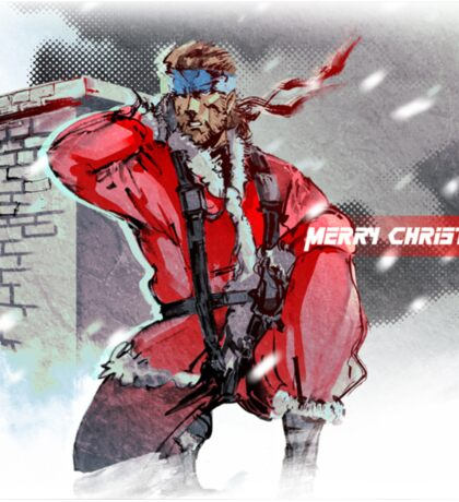 Merry Christmas - Metal Gear Solid Sticker