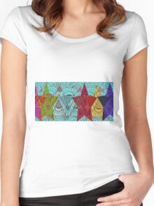 Sky Lodge Women's Fitted Scoop T-Shirt