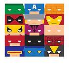 SuperBlocks - Marvel by [g-ee-k] .com