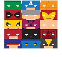 SuperBlocks - Marvel by [g-ee-k] .com