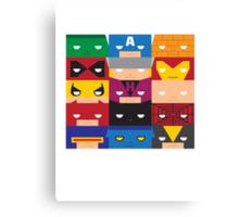 SuperBlocks - Marvel Canvas Print