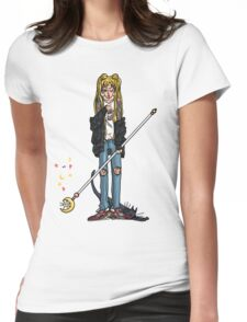Tough Moon Womens Fitted T-Shirt