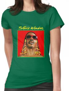 Stevie Wonder Womens Fitted T-Shirt