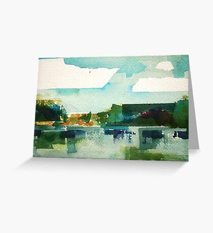 landscape 104 Greeting Card