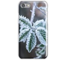 Winter Icy Flower Art and Apparel iPhone Case/Skin