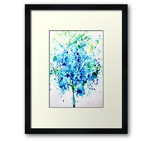 PRAYING MANTIS and ORCHID Framed Print