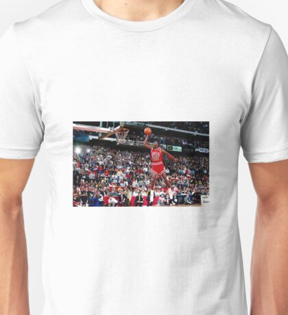 Free Throw Dunk Unisex T-Shirt