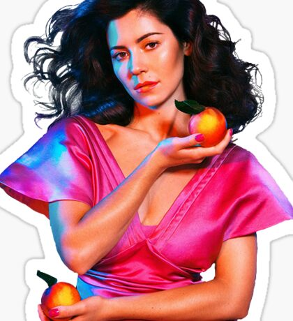 Marina and the Diamonds Froot Sticker