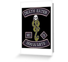 Death Eater MC Greeting Card