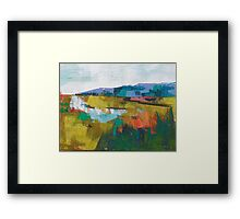 Late summer 8 Framed Print