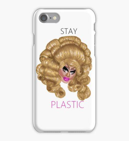 Trixie Mattel Stay Plastic Art Print iPhone Case/Skin