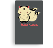 Hello Kirara Canvas Print