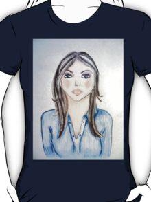 Blue blouse girl T-Shirt