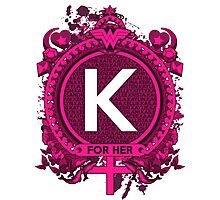 FOR HER - K Photographic Print
