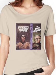 Dracula's Daughter & The Ghost Frankenstein Women's Relaxed Fit T-Shirt