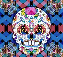 Sugar Skulls by spookydooky