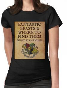Fantastic beasts 2 Womens Fitted T-Shirt