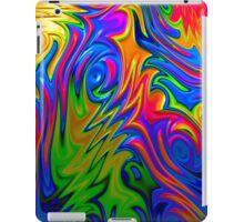 Psychedelic Rainbow Fractal iPad Case/Skin