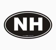 New Hampshire NH Euro Oval  Kids Clothes