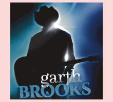 Garth Brooks Silhouette Unisex T-Shirt01 Entisna One Piece - Short Sleeve