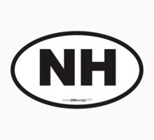 New Hampshire NH Euro Oval  by USAswagg2
