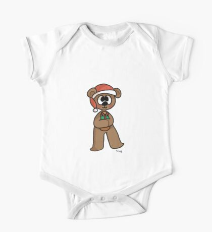 a beary christmas One Piece - Short Sleeve