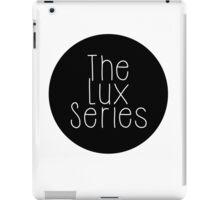 The Lux Series - Black Circle iPad Case/Skin