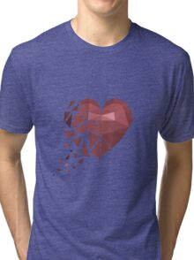 Drifting Heart Tri-blend T-Shirt