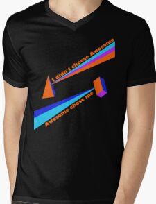 Awesome Chose Me Mens V-Neck T-Shirt