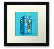 Most Excellent Time Travellers Framed Print