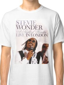 Stevie Wonder Live in London Classic T-Shirt