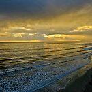 Santa Barbara sunset #2- a few minutes later by David Chesluk