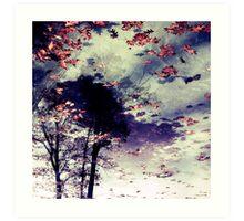 Water and Fall Art Print