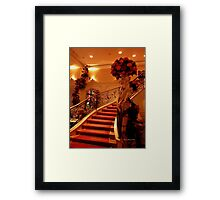 Cafe Felix Framed Print