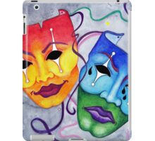 Comedy and Tragedy iPad Case/Skin