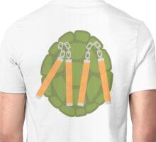 TMNT Michelangelo (back) Unisex T-Shirt