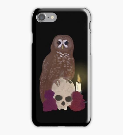 Spotted Owl iPhone Case/Skin