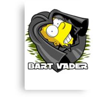 Bart Vader Canvas Print