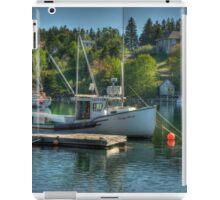 Indian Harbour Nova Scotia iPad Case/Skin