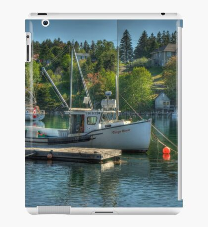 Indian Harbour Nova Scotia iPad Case/Skin