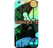Generate_invert iPhone Case/Skin